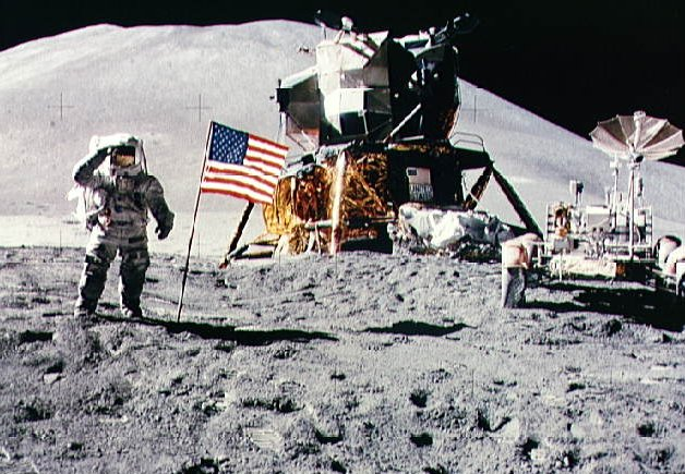 Apollo 15  ( photo NASA )